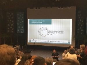 Foto Congresso SESI Abertura Premiacao