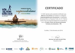 CertificadoPremioOziresSilva